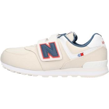 Sapatos Rapaz Sapatilhas New Balance - Yv574 beige YV574SOMG BEIGE