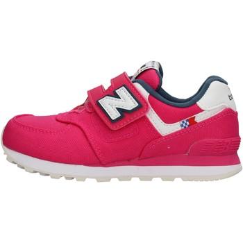 Sapatos Rapariga Sapatilhas New Balance - Yv574 fuxia YV574SOEP FUXIA