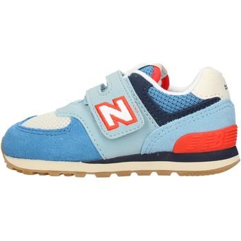 Sapatos Rapaz Sapatilhas New Balance - Iv574 azzurro IV574SOS AZZURRO