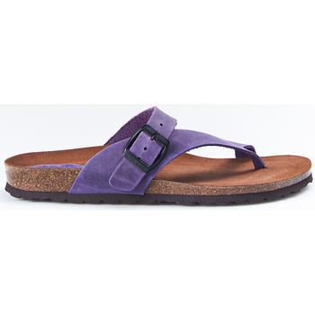Sapatos Mulher Chinelos Interbios Sandalias  7119 Lila Violeta
