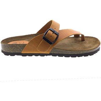 Sapatos Mulher Chinelos Interbios Sandalias  7119 Naranja Laranja