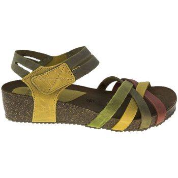 Sapatos Mulher Sandálias Interbios Sandalias  5338 Teja-Kaki-Mostaza Laranja