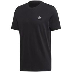 Textil Homem T-Shirt mangas curtas adidas Originals Trefoil Essentials Tee Preto