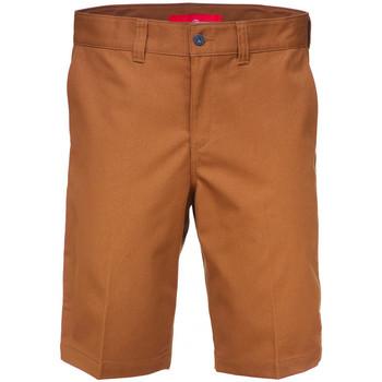 Textil Homem Shorts / Bermudas Dickies Industrial wk sht Castanho