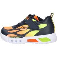Sapatos Rapaz Sapatilhas Skechers - Flex glow arancione 400016N NVOR ARANCIONE