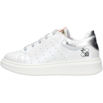 Sapatos Rapaz Sapatilhas Balducci - Sneaker bianco/argento STAN1003 BIANCO