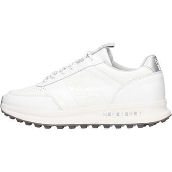 Sapatos Homem Sapatilhas Napapijri - Sneaker bianco NA4ES7-002 BIANCO
