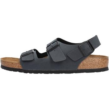 Sapatos Homem Sandálias Birkenstock - Milano blu 634513 BLU