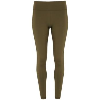 Textil Mulher Collants Tridri TR031 Azeitona