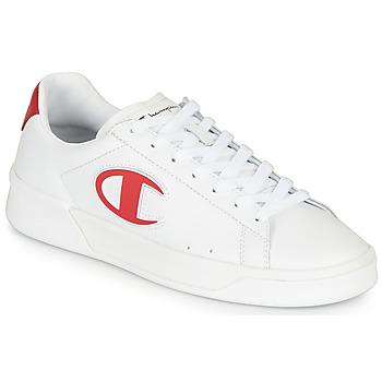 Sapatos Homem Sapatilhas Champion M 979 LOW Branco / Vermelho