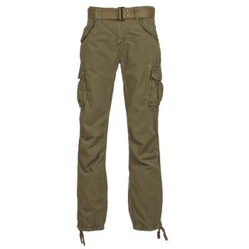 Textil Homem Calça com bolsos Schott BATTLE Cáqui