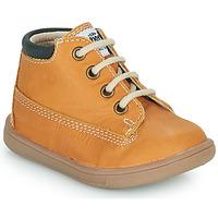 Sapatos Rapaz Sapatilhas de cano-alto GBB NORMAN Amarelo