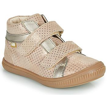 Sapatos Rapariga Sapatilhas de cano-alto GBB EDEA Bege