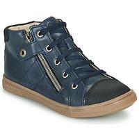 Sapatos Rapaz Sapatilhas de cano-alto GBB KAMIL Azul