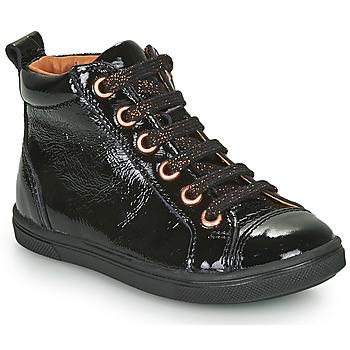 Sapatos Rapariga Sapatilhas de cano-alto GBB INNA Preto
