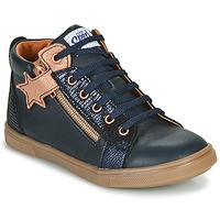 Sapatos Rapariga Sapatilhas de cano-alto GBB VALA Marinho / Rosa