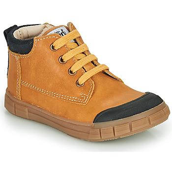 Sapatos Rapaz Sapatilhas de cano-alto GBB SHEN Conhaque