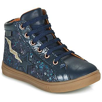 Sapatos Rapariga Sapatilhas de cano-alto GBB TADEA Azul