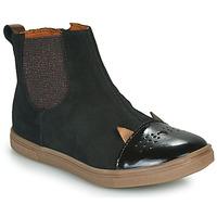 Sapatos Rapariga Botas baixas GBB JESSINE Preto