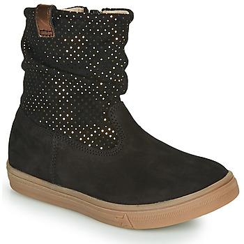 Sapatos Rapariga Botas GBB KINGA Preto