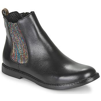 Sapatos Rapariga Botas baixas GBB ARANA Preto
