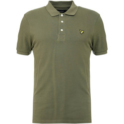 Textil Homem Polos mangas curta Lyle & Scott Slim Stretch Polo Shirt Groen