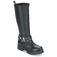 Sapatos Mulher Botas Love Moschino GROGI Preto
