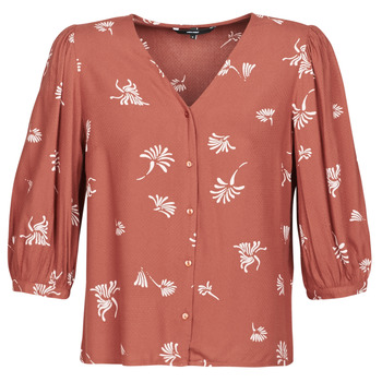 Textil Mulher camisas Vero Moda VMJILLEY Bordô