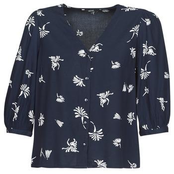 Textil Mulher camisas Vero Moda VMJILLEY Marinho