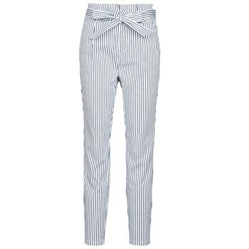 Textil Mulher Chinos Vero Moda VMEVA Branco / Cinza