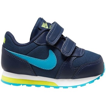 Sapatos Rapaz Sapatilhas de corrida Nike MD Runner 2 Azul marinho