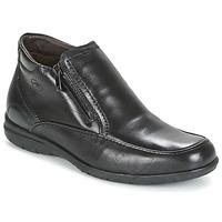 Sapatos Homem Botas baixas Fluchos LUCA Preto