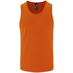 Textil Homem Tops sem mangas Sols SPORT TT MEN Naranja