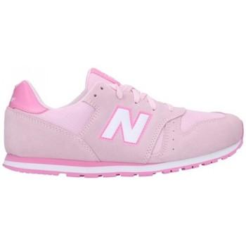 Sapatos Mulher Sapatilhas New Balance YC373SP Mujer Rosa rose