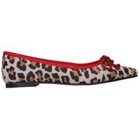 Sapatos Mulher Sabrinas Euforia 500 Ante leopardino Mujer Combinado Multicolor