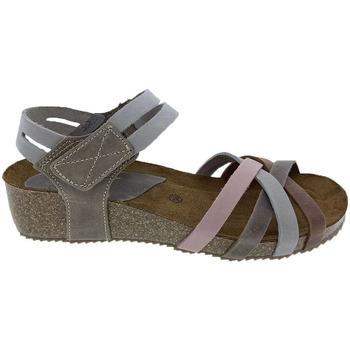 Sapatos Mulher Sandálias Interbios Sandalias  5338 Ours-Gris-Pardo-Salmón Cinza