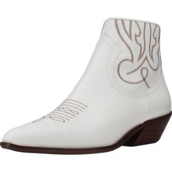 Sapatos Mulher Botins Alpe 4585 05 Branco