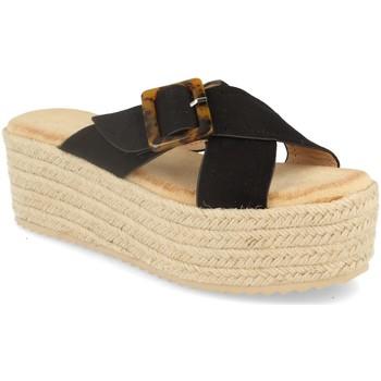 Sapatos Mulher Alpargatas Buonarotti 1CF-0112 Negro