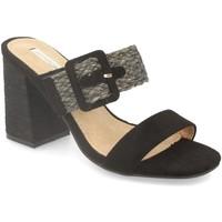 Sapatos Mulher Sandálias Buonarotti 1KA-0065 Negro