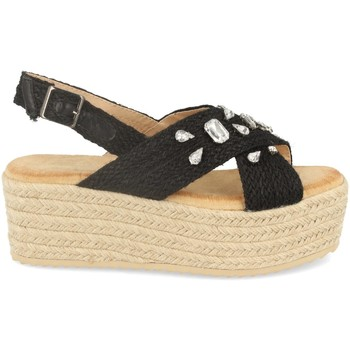 Sapatos Mulher Alpargatas Buonarotti 1CF-0118 Negro
