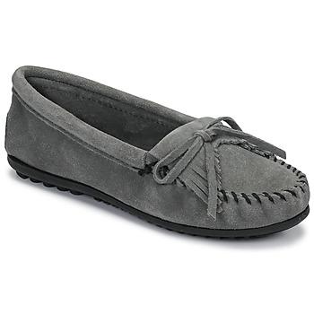 Sapatos Mulher Mocassins Minnetonka KILTY Cinza
