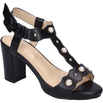Sapatos Mulher Sandálias Brigitte sandali pelle sintetica nero