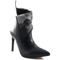 Sapatos Mulher Botins Parodi Shoes 73/8159/01 Black