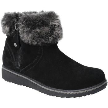 Sapatos Mulher Botas de neve Hush puppies  Preto