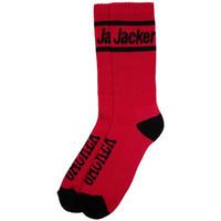 Acessórios Homem Meias Jacker After logo socks Vermelho