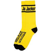 Acessórios Homem Meias Jacker After logo socks Amarelo