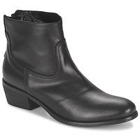 Sapatos Mulher Botas baixas Meline SOFMET Preto