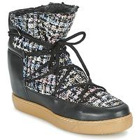 Sapatos Mulher Botas baixas Meline DERNA Preto