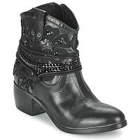 Sapatos Mulher Botas baixas Mimmu KAL Preto