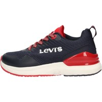 Sapatos Rapaz Sapatilhas Levi's - Fusion blu VFUS0001T-0290 BLU